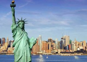 Свобода-города-Нью-Йорк