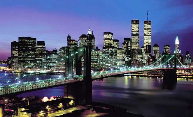 Свобода-города-Нью-Йорк_